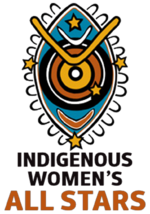 Indigenous womens all stars logo 2013
