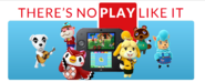 Nintendo slogan- THERES NO PLAY LIKE IT