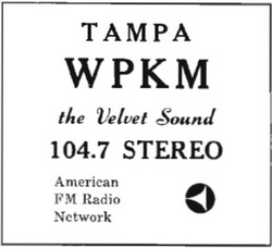WPKM Tampa 1968