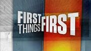 First Things First new logo
