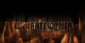 IRATE Gamer Fiery logo