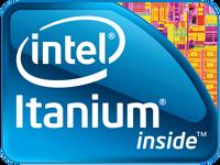 Intel Itanium logo (2009)