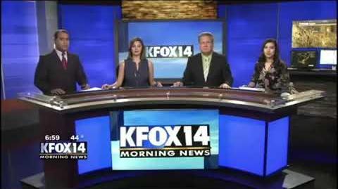 KFOX-TV news opens