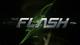 The Flash (2014 TV series) Flash vs. Arrow title card