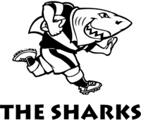 The Sharks rugby logo