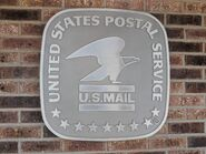 USPS Symbol as a sign