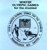 Örnsköldsvik 1976 Paralympics logo