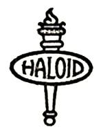 1937 Haloid Logo xerox