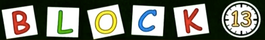 Block 13 logo title card