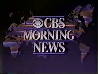 CBS Morning News 1987