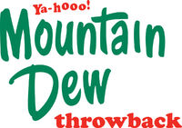 Mountain dew throwback logo