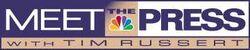 Tv nbc meet the press with tim russert logo