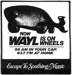 WAYL Minneapolis 1981
