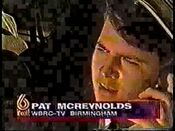 WBRC-TV's FOX 6 Pat McReynolds video promo from September 6, 1996