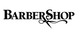 Barbershop film logo