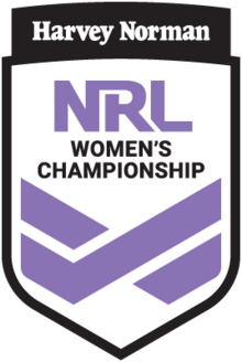 NRL Women's Championship Logo