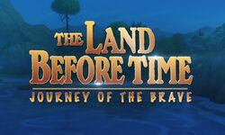 The Land Before Time 14 logo