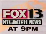 WHBQ FOX 13 EWN 9PM 1995