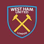 New West Ham United FC logo (claret, blue and gold v2)