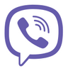 Viber icon white