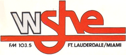 WSHE FM Fort Laderdale 1992
