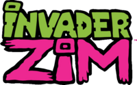 Invader Zim comic logo