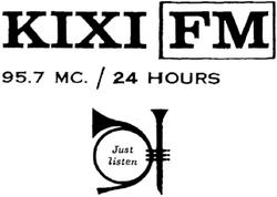 KIXI Seattle 1964