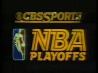 NBA on CBS 1982 1983