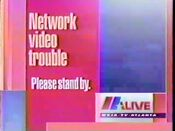 WXIA technical difficulties slide 1991