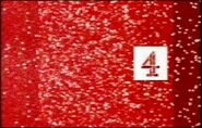Channel 4 Christmas ident 2000 red