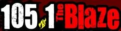 KKBZ 105.1 blaze logo
