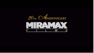 Miramax Films 20th Anniversary
