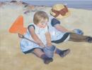 Rete 4 - children playing on the beach