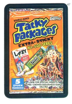 Tacky Packages