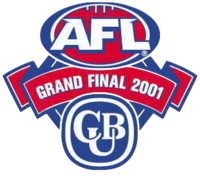 2001 AFL Grand Final logo