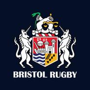 Bristol Rugby logo (on navy)