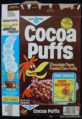 Cocoa Puffs 1974-90