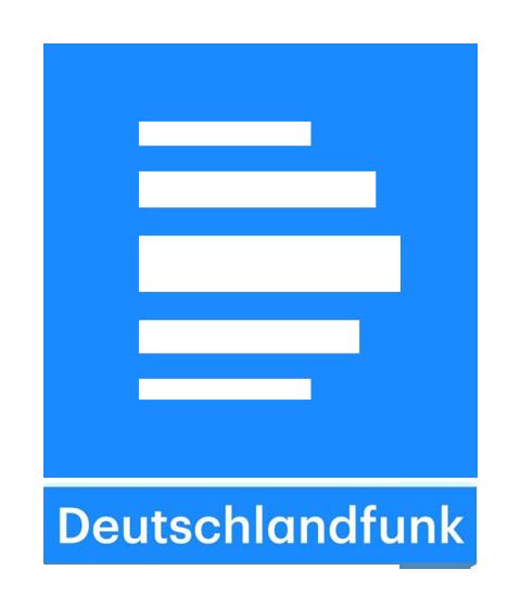 Deutschlandfunk | Logo Blau/Weiss