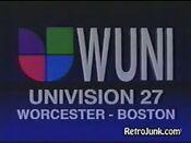 Wuni univision 27 id 1999