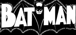 1940 batman comic title logo