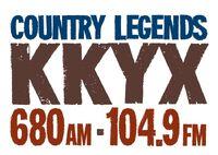 KKYX 680 AM 104.9 FM