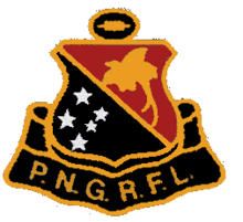 Papua New Guinea Rugby Football League 1975 logo