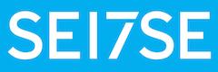 Seitse logo valge