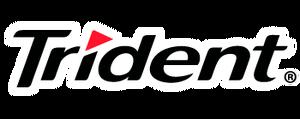 trident logopedia fandom powered by wikia rh logos wikia com  trident gum logo history