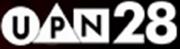 UPN 28 Print Logo2001-2002