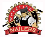 Wheeling Nailers logo (alternate, 2003-2011)