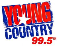 Young Country 99.5 logo