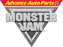 Advanced Auto Parts Monster Jam Logo