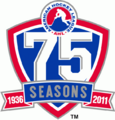 American Hockey League logo (75 seasons)