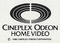 Cineplex Odeon Home Video b